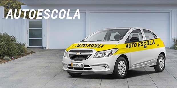 Comprar carros com desconto para Autoescola é na Chevrolet