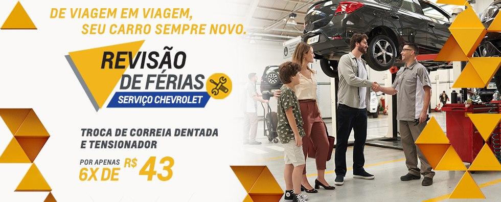 Revisao de Ferias Chevrolet Correia e Tensionador