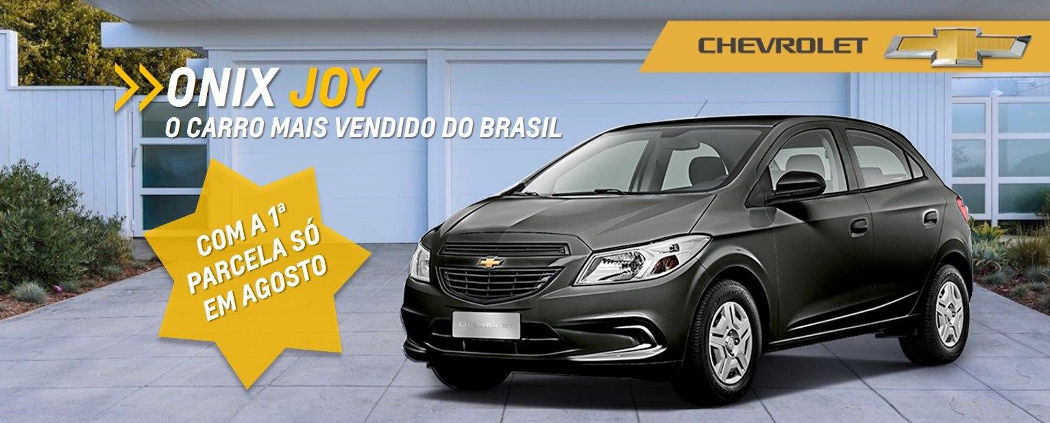 Ofertas Chevrolet - Onix-joy-com-a-primeira-parcela-para-agosto