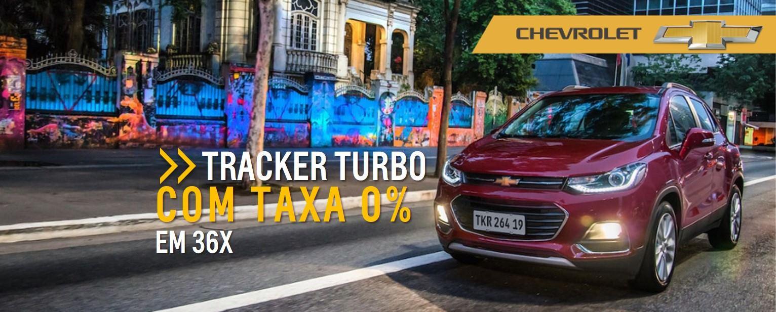 Feirao de Fabrica Chevrolet - TRACKER TURBO com TAXA 0%