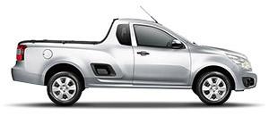 A Chevrolet Montana é útil como uma caminhonete e elegante como um cupê. Sua frente é realçada pelos faróis na versão LS e na versão Sport faróis com superfície interna preta (máscara negra). A lateral se une à caçamba, que suporta até 768 kg e tem estribos laterais para facilitar o acesso. E, na versão Sport, retrovisores e spoilers na cor do carro, além do rack de teto, criam um perfil elegante. Uma beleza que se estende ao dia a dia dos negócios.