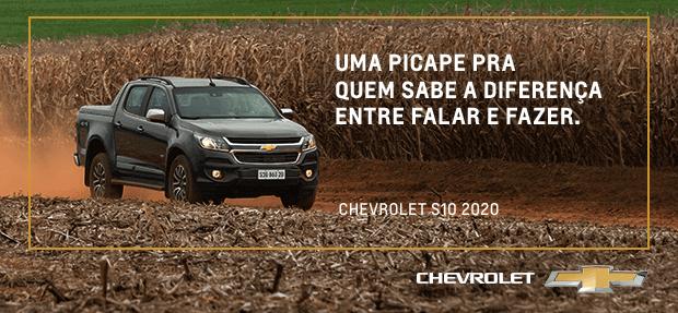 Conheça a nova picape Chevrolet S10 Hight Country 2020