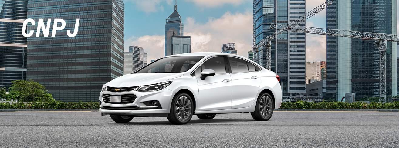 Comprar carros com descontos para CNPJ por vendas diretas na Chevrolet