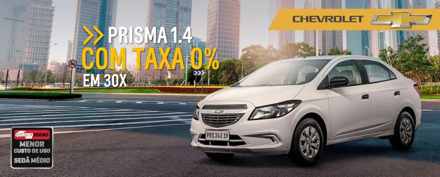 Feirao de Fabrica Chevrolet - PRISMA LT 1.4 com TAXA 0%