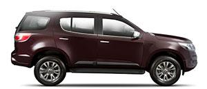 O novo Chevrolet Trailblazer 2017 é um SUV 4X4 disponíveis nas versões LT e LTZ, e nas motorizações Diesel 2.8 e Gasolina 3.6.  O verdadeiro sucesso é conseguir levar quem você mais ama para novos caminhos, os melhores caminhos. Nesse momento você poderá contar com o Chevrolet Trailblazer, um carro SUV de 7 lugares e espaçoso. A combinação perfeita de tecnologia, performance, design e segurança para colocar a sua família acima de tudo.