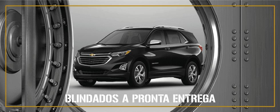Carros Blindados a pronta entrega é na concessionária Chevrolet Carrera - Asa Norte