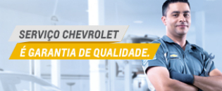 Serviços garantidos Chevrolet