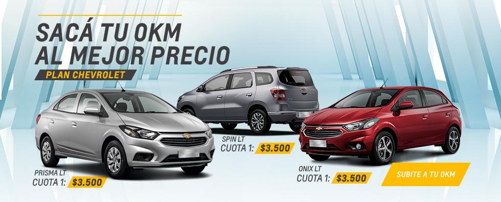 Plan Chevrolet en Coinauto