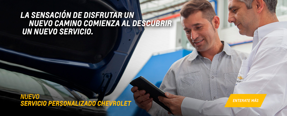 Servicio Personalizado Chevrolet Coinauto