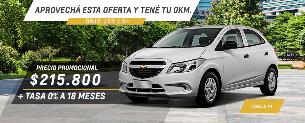 Oferta Nacional  Onix Joy Chevrolet Coinauto