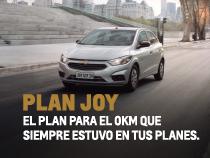 Plan Chevrolet Joy en concesionario Oficial de Santa Fe y Paraná