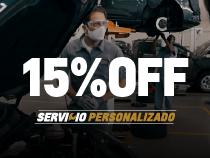 15% de descuento + 12 cuotas sin interés en service Chevrolet en Santa Fe y Paraná