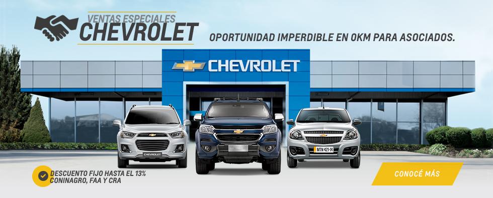Alianzas Chevrolet en Coinauto