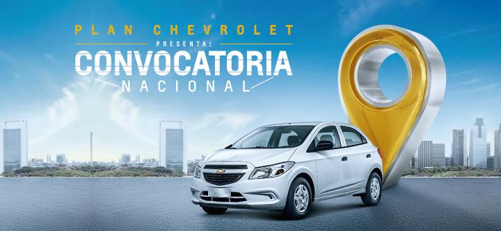 Plan Convocatoria Nacional - Chevrolet Coinauto