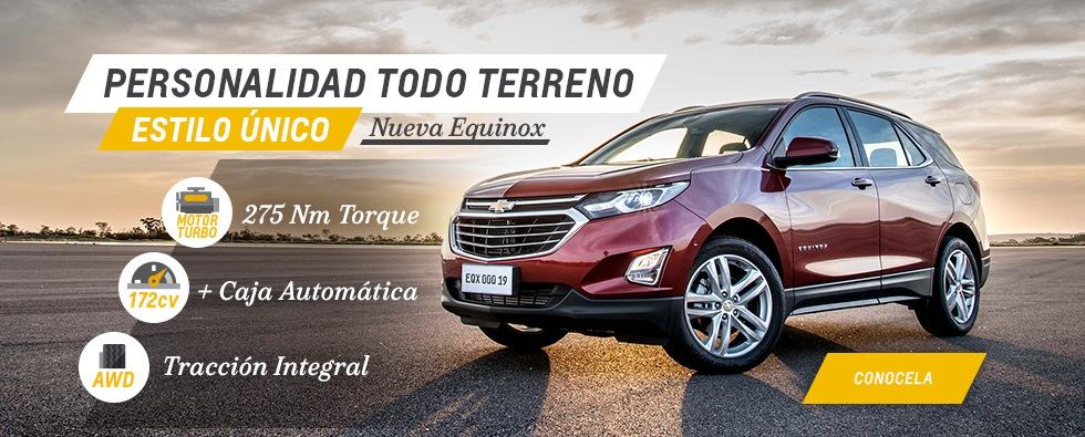 Nueva Chevrolet Equinox en Coinauto