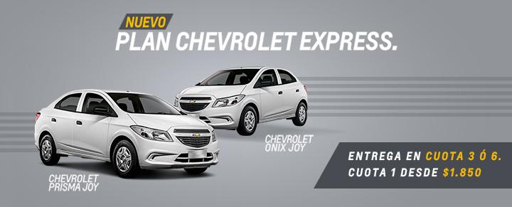 Nuevo Plan Chevrolet Express en Coinauto