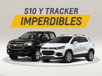 Oferta en Chevrolet Tracker y S10 de Coinauto
