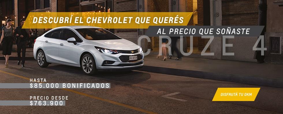 Chevrolet Cruze 4 en Chexa