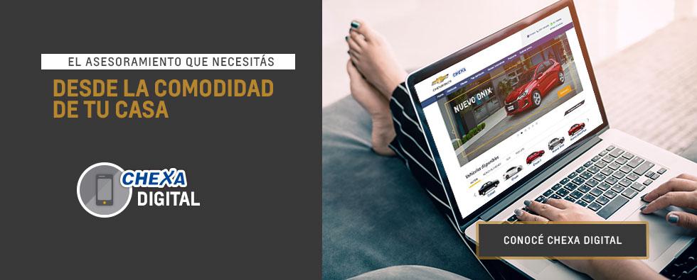 Asesoriamiento digital Concesionario Oficial Chevrolet en Córdoba
