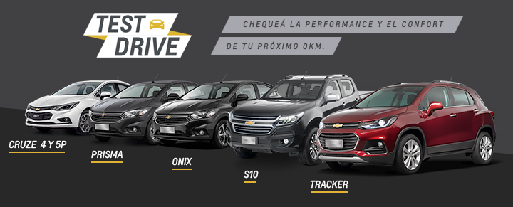 Test Drive Chevrolet Chexa