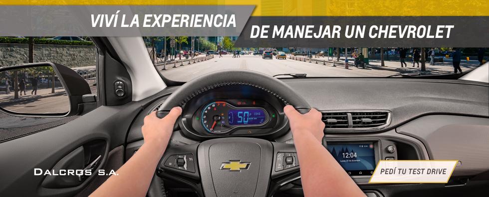 Test Drive Chevrolet Dalcros