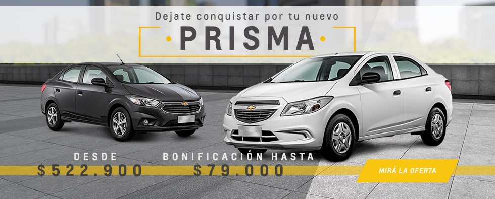 Chevrolet Prisma y Prisma Joy en Dalcros