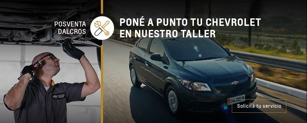 Agendamiento de Servicios en Chevrolet Dlacros