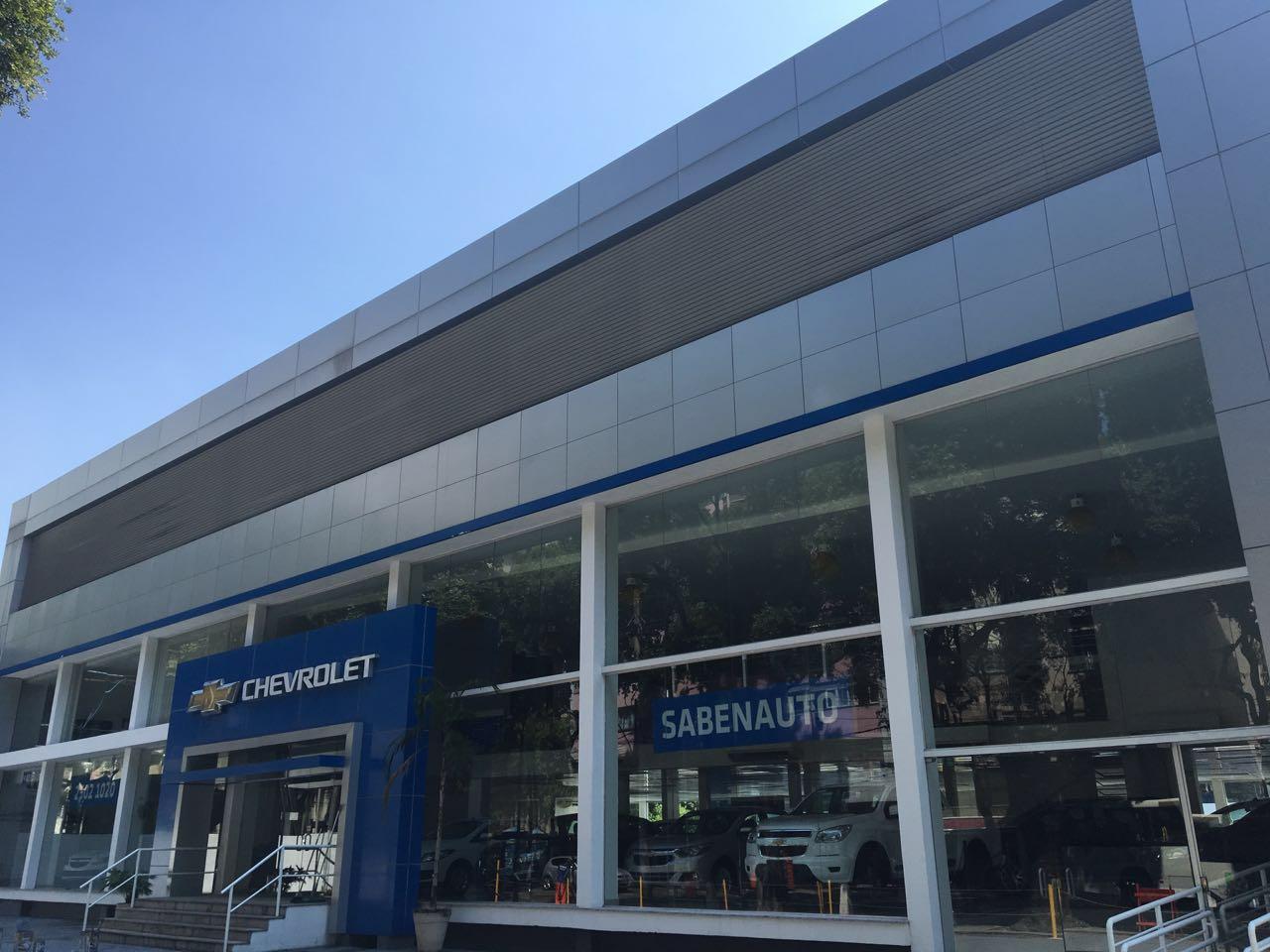 Fachada concessionária Chevrolet Sabenauto RJ