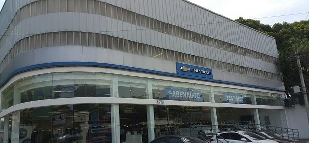 Fachada concessionária Chevrolet Sabenauto