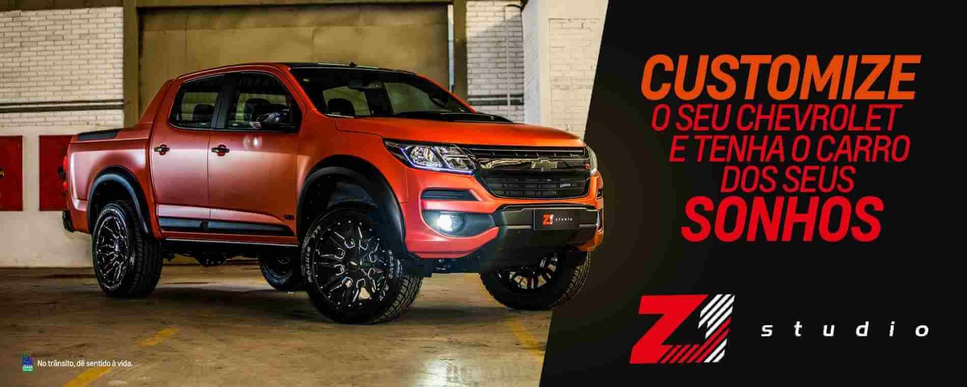 Customize o seu Chevrolet na Zacarias