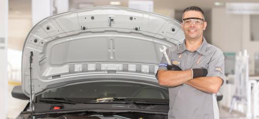 Serviços de manutenção e reparo para revisão de carros na concessionária Chevrolet Zacarias