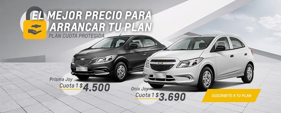 Plan Chevrolet Cuota Protegida en RPM