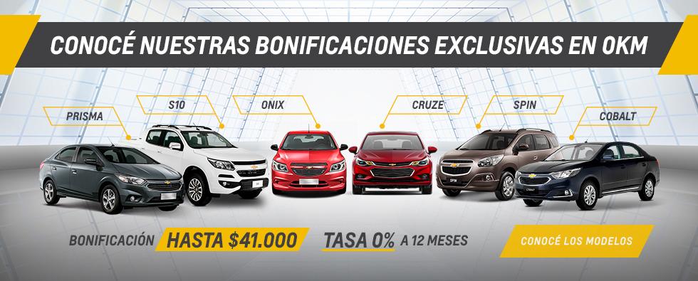 Ofertas de Chevrolet en RPM