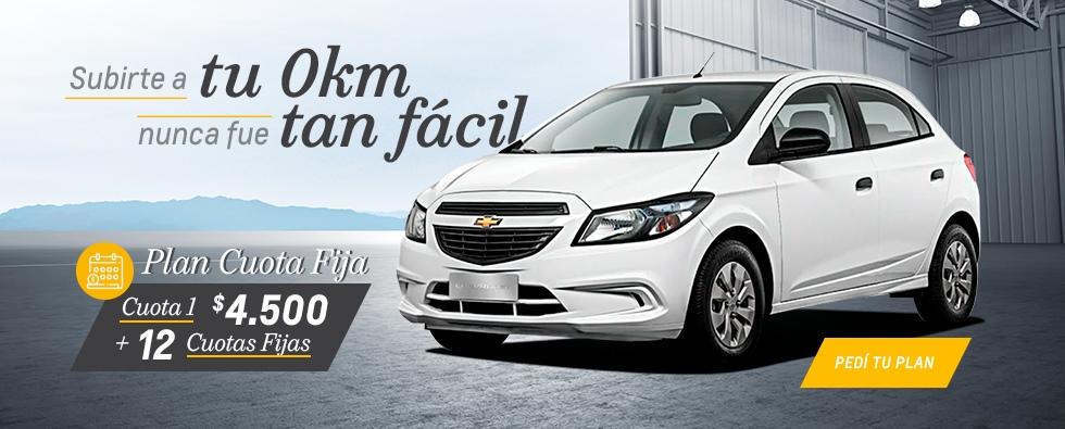 Plan Chevrolet Cuota Fija en RPM
