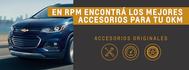 Accesorios originales en concesionario oficial Chevrolet RPM