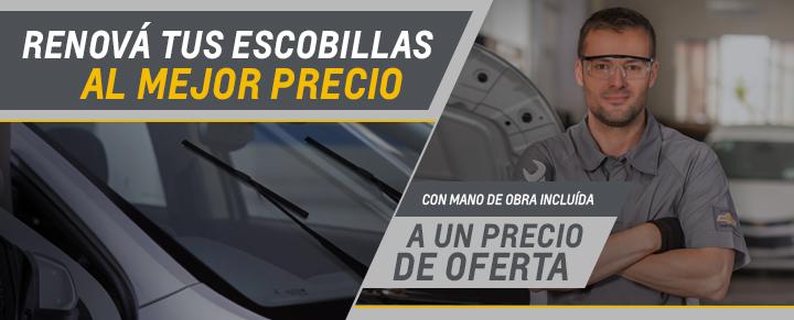 Cambio de escobillas para Agile, Montana, Onix, Prisma, Onix Joy, Prisma Joy, S10, Trailblazer y Cobalt - Repuestos Originales Chevrolet RPM
