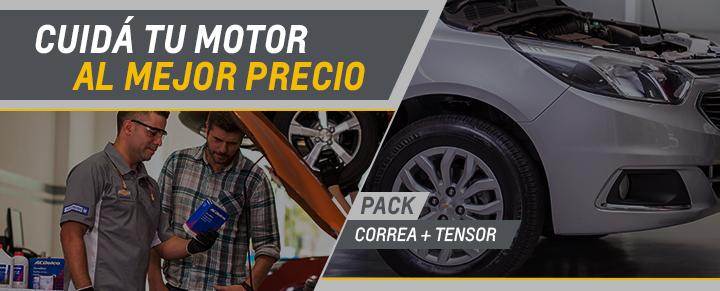Correa + Tensor - Repuestos Chevrolet