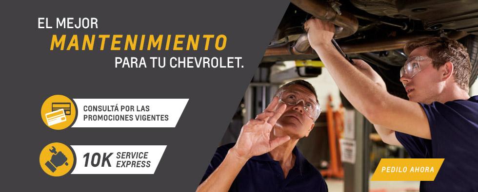 Servicios Chevrolet en Autoteam