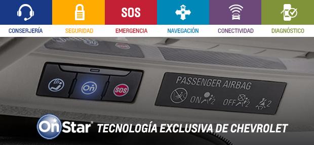 Tecnología OnStar Chevrolet en Autoteam