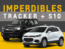 Oferta de Chevrolet Tracker y S10 en Fraga Automotores