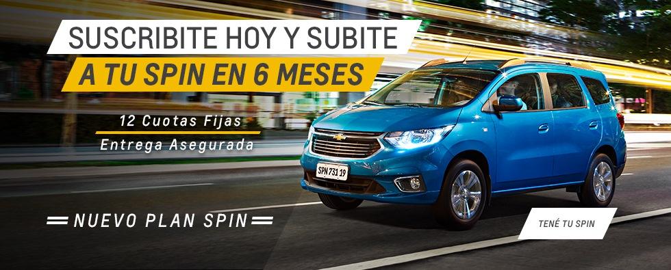 Nuevo Plan Spin 2019 en Fraga Automotores