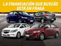 Financiaciones en Chevrolet Onix y Prisma de Fraga Automotores