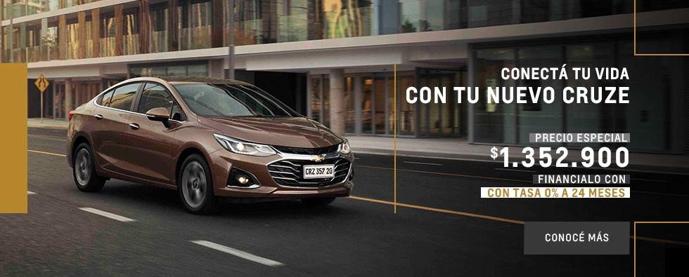 Nuevo Chevrolet Cruze- Concesionario Oficial- Akar
