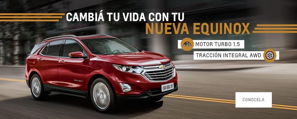 Chevrolet Equinox en Chubut y Santa Cruz