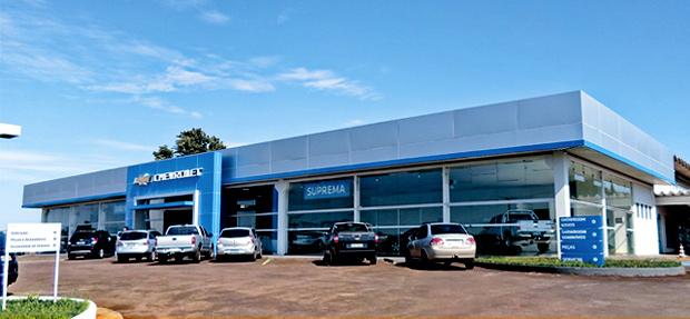 Fachada concessionária Chevrolet Suprema Assis