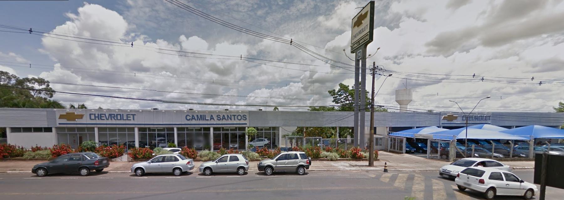 Fachada concessionária Chevrolet Camila Santos Catanduva