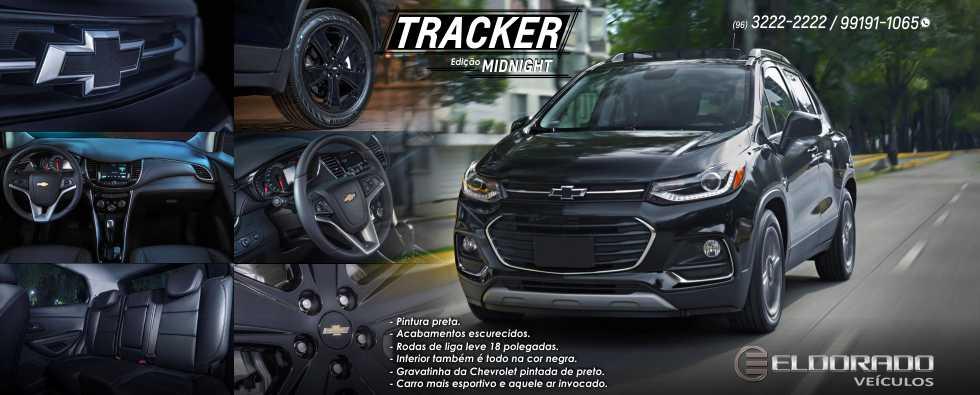 Chevrolet Tracker terá edição Midnight