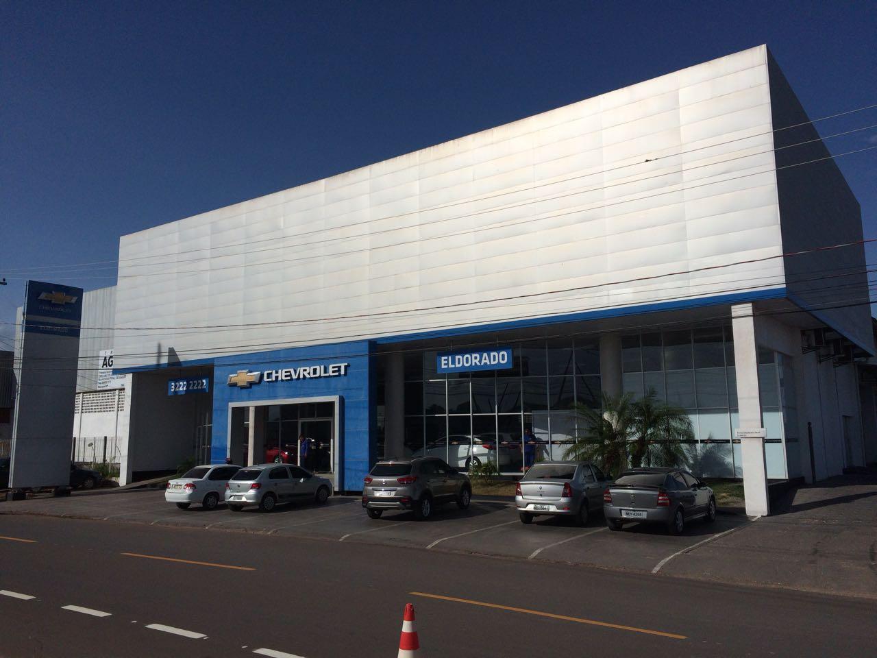 Fachada concessionária Chevrolet Eldorado