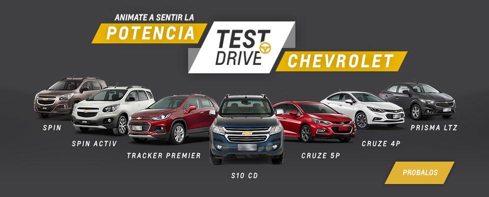 Test Drive de Chevrolet en Chexsur