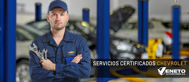 Servicios Certificados Chevrolet en Río Gallegos